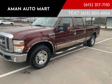 2009 Ford F-250 Super Duty for sale at Aman Auto Mart in Murfreesboro TN