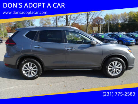 2019 Nissan Rogue for sale at DON'S ADOPT A CAR in Cadillac MI