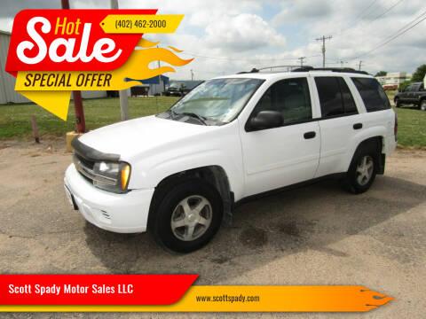 2006 Chevrolet TrailBlazer for sale at Scott Spady Motor Sales LLC in Hastings NE