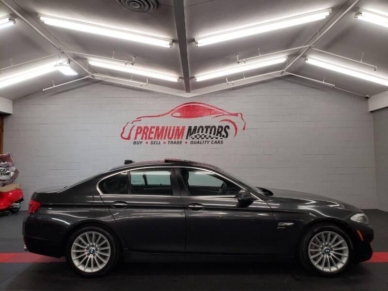 2011 BMW 5 Series for sale at Premium Motors in Villa Park IL