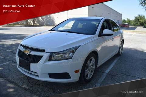 2014 Chevrolet Cruze for sale at American Auto Center in Austin TX