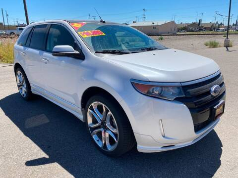 2012 Ford Edge for sale at Top Line Auto Sales in Idaho Falls ID