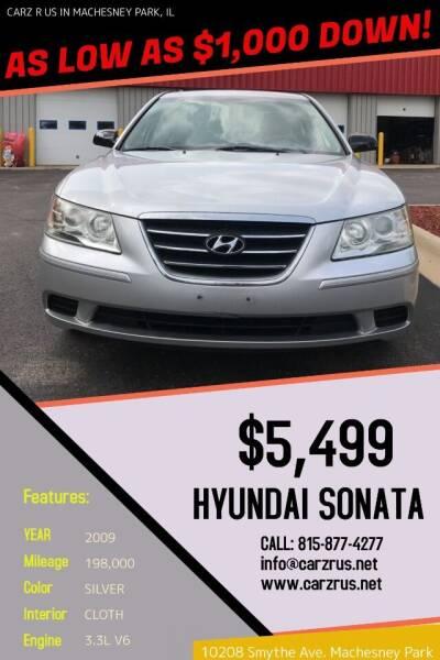 2009 Hyundai Sonata for sale at Carz R Us in Machesney Park IL
