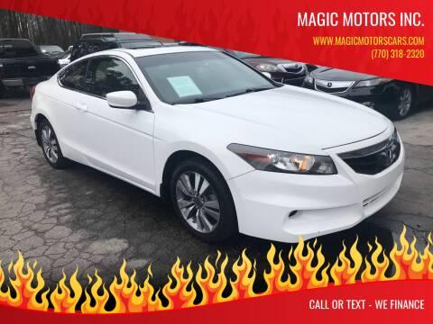 2012 Honda Accord for sale at Magic Motors Inc. in Snellville GA
