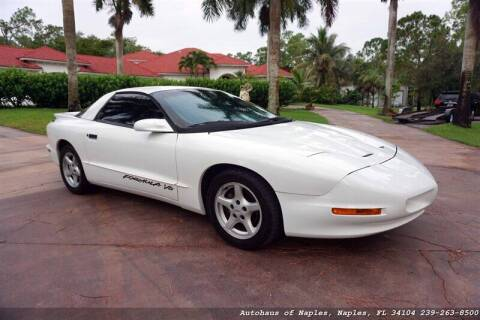 1996 Pontiac Firebird for sale at Autohaus of Naples in Naples FL