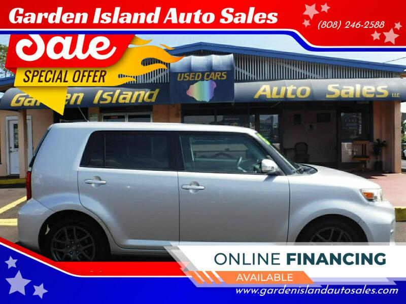 2015 Scion xB for sale at Garden Island Auto Sales in Lihue HI