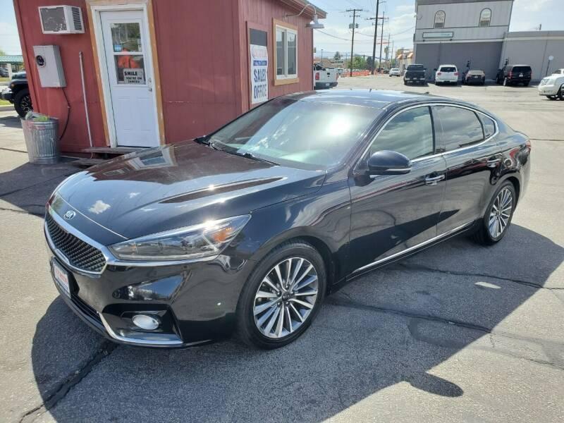 2017 Kia Cadenza for sale at Curtis Auto Sales LLC in Orem UT