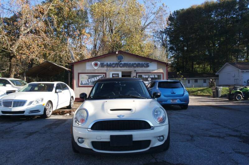 2010 MINI Cooper Clubman for sale at E-Motorworks in Roswell GA