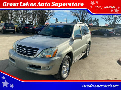 2005 Lexus GX 470 for sale at Great Lakes Auto Superstore in Pontiac MI