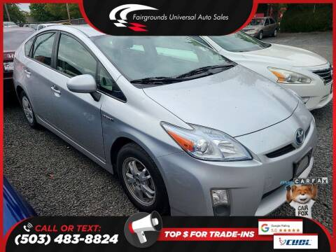 2011 Toyota Prius for sale at Universal Auto Sales in Salem OR