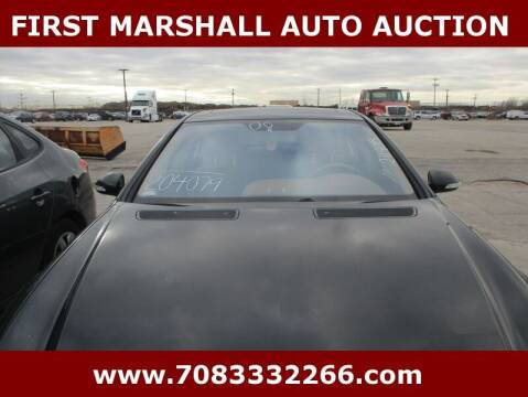 2008 Mercedes-Benz S-Class for sale at First Marshall Auto Auction in Harvey IL