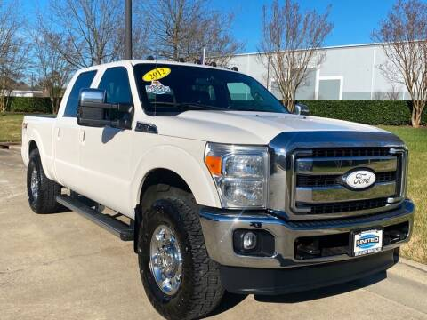 2012 Ford F-250 Super Duty for sale at UNITED AUTO WHOLESALERS LLC in Portsmouth VA