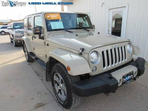 2017 Jeep Wrangler Unlimited for sale at TWIN RIVERS CHRYSLER JEEP DODGE RAM in Beatrice NE