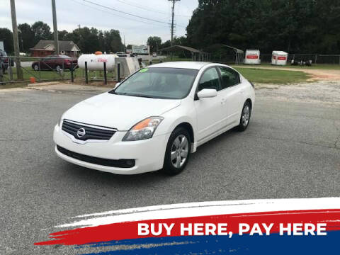 2007 Nissan Altima for sale at Street Source Auto LLC in Hickory NC