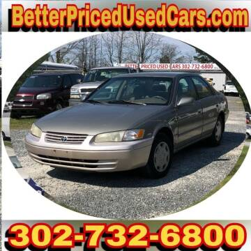 1999 Toyota Camry for sale at Better Priced Used Cars in Frankford DE