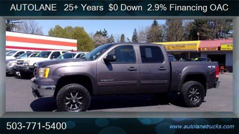 2010 GMC Sierra 1500 for sale at Auto Lane in Portland OR