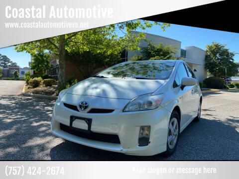 2010 Toyota Prius for sale at Coastal Automotive in Virginia Beach VA