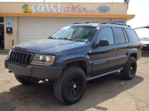 2004 Jeep Grand Cherokee for sale at Coast Motors in Arroyo Grande CA