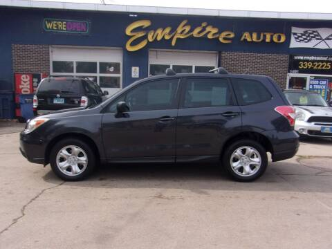 2014 Subaru Forester for sale at Empire Auto Sales in Sioux Falls SD