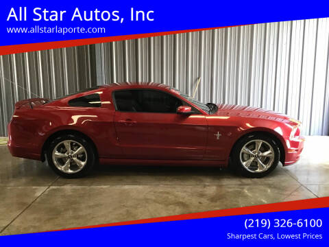 2013 Ford Mustang for sale at All Star Autos, Inc in La Porte IN