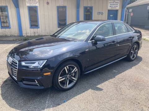 2017 Audi A4 for sale at QUALITY AUTOS in Hamburg NJ