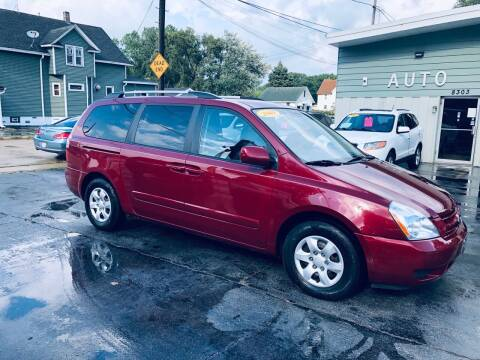2009 Kia Sedona for sale at SHEFFIELD MOTORS INC in Kenosha WI