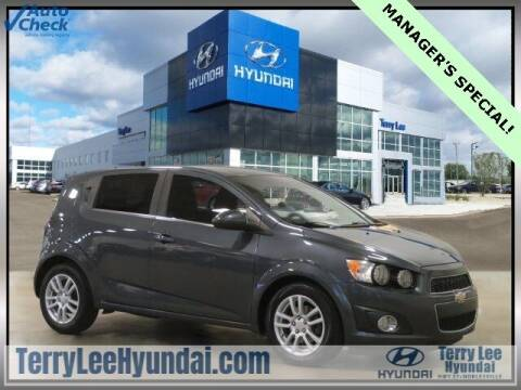 2012 Chevrolet Sonic for sale at Terry Lee Hyundai in Noblesville IN