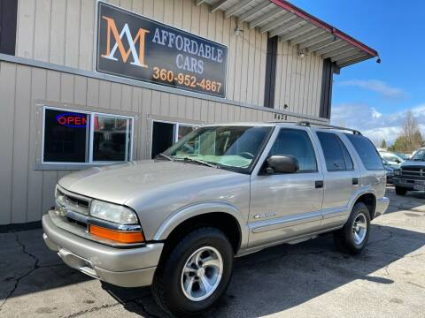 2005 Chevrolet Blazer for sale at M & A Affordable Cars in Vancouver WA