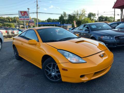 2001 Toyota Celica for sale at KB Auto Mall LLC in Akron OH