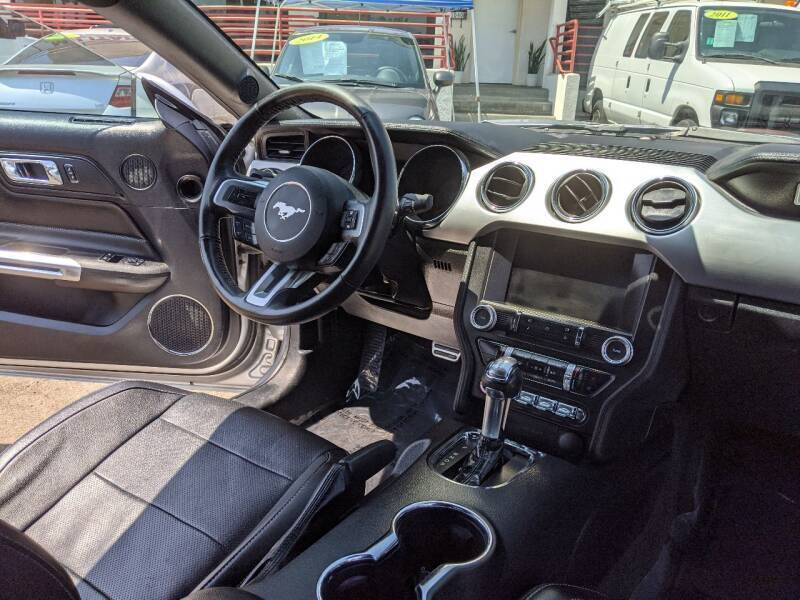 2015 Ford Mustang EcoBoost Premium 2dr Fastback - National City CA