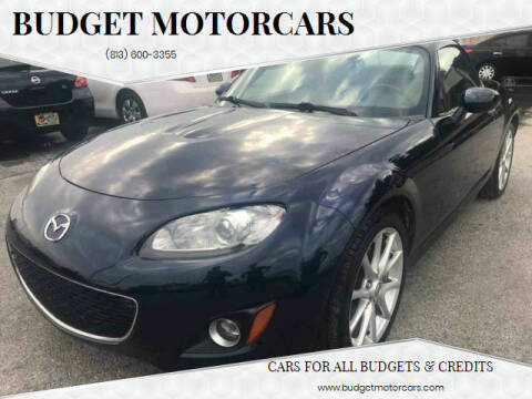 2009 Mazda MX-5 Miata for sale at Budget Motorcars in Tampa FL