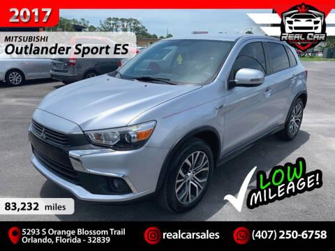 2017 Mitsubishi Outlander Sport for sale at Real Car Sales in Orlando FL