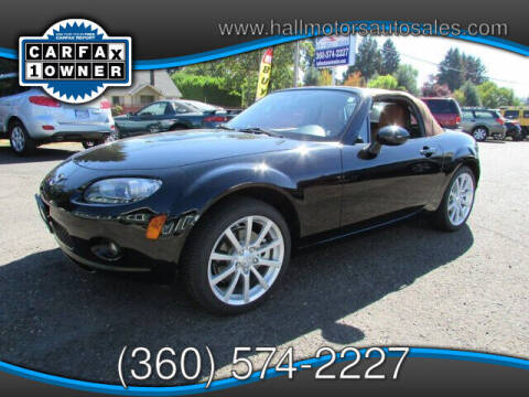 2006 Mazda MX-5 Miata for sale at Hall Motors LLC in Vancouver WA