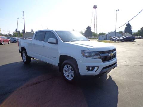 2016 Chevrolet Colorado for sale at New Deal Used Cars in Spokane Valley WA