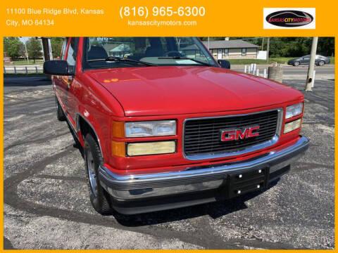 1996 GMC Sierra 1500 for sale at Kansas City Motors in Kansas City MO