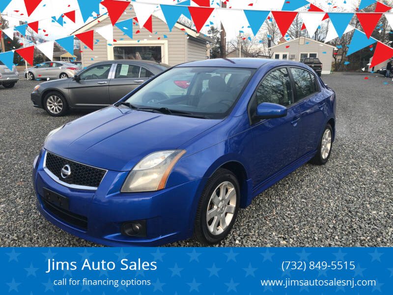 2010 Nissan Sentra for sale at Jims Auto Sales in Lakehurst NJ