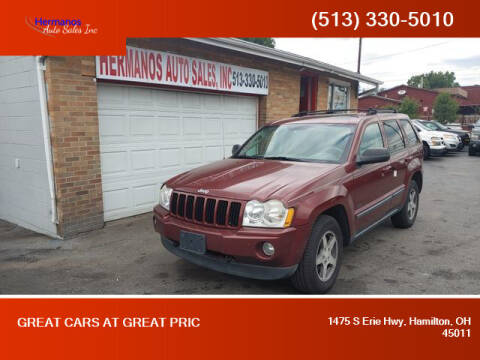 2007 Jeep Grand Cherokee for sale at HERMANOS AUTO SALES INC in Hamilton OH