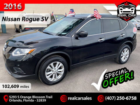 2016 Nissan Rogue for sale at Real Car Sales in Orlando FL