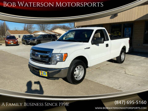2013 Ford F-150 for sale at Bob Waterson Motorsports in South Elgin IL