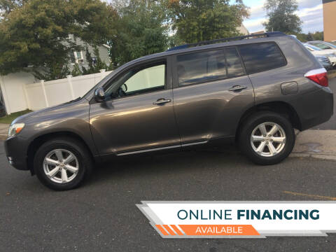 2009 Toyota Highlander for sale at New Jersey Auto Wholesale Outlet in Union Beach NJ