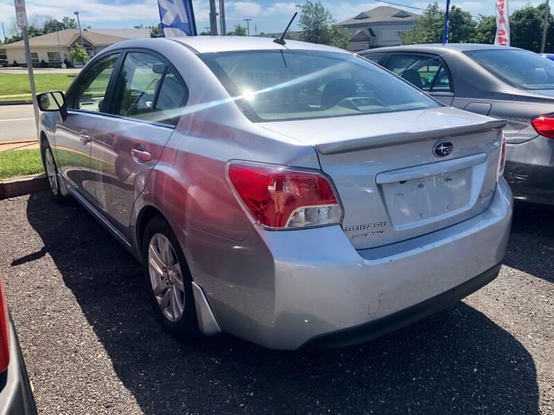 2016 Subaru Impreza for sale at Mayer Motors of Pennsburg in Pennsburg PA