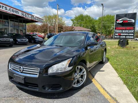 2014 Nissan Maxima for sale at TOP YIN MOTORS in Mount Prospect IL