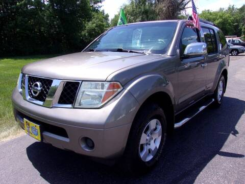 2006 Nissan Pathfinder for sale at American Auto Sales in Forest Lake MN