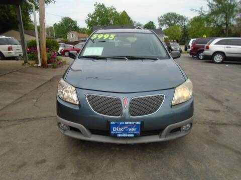 2007 Pontiac Vibe for sale at DISCOVER AUTO SALES in Racine WI