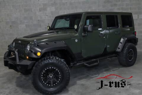 2015 Jeep Wrangler Unlimited for sale at J-Rus Inc. in Macomb MI