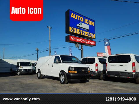 2017 Chevrolet Express Cargo for sale at Auto Icon in Houston TX