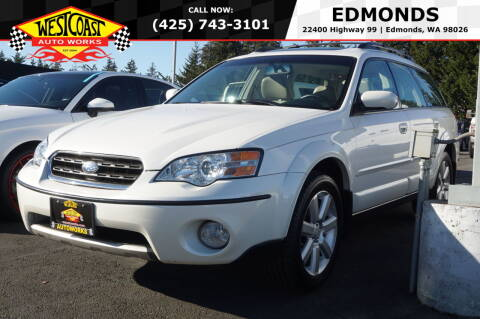 2006 Subaru Outback for sale at West Coast Auto Works in Edmonds WA