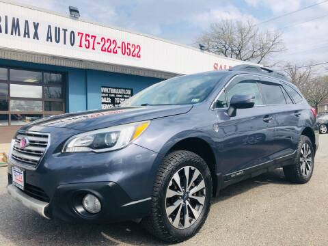 2015 Subaru Outback for sale at Trimax Auto Group in Norfolk VA
