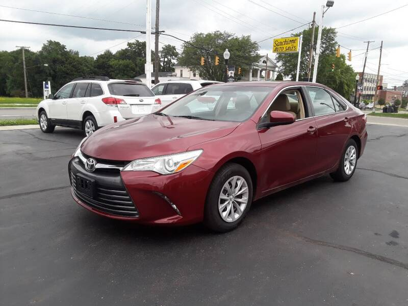 2016 Toyota Camry for sale at Sarchione INC in Alliance OH
