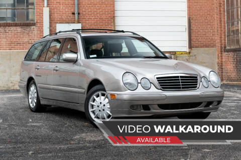 2003 Mercedes-Benz E-Class for sale at Michael Thomas Motor Co in Saint Charles MO